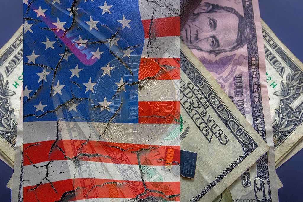 Krypto-Kapitalismus ohne die USA? Wirklich? (Foto: WorldSpectrum; pixabay.com; Montage: tom/dkf)